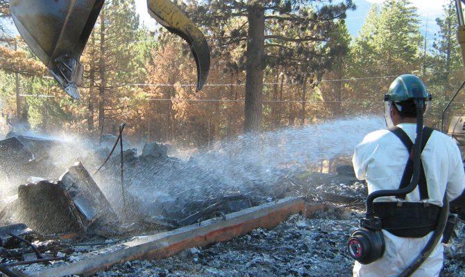 Lake Tahoe Fire Response