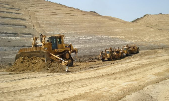 Puente Hills Landfill Slope Stabilization and Roads