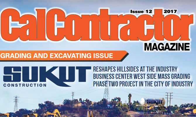 Sukut's City of Industry Project On The Cover of CalContractor