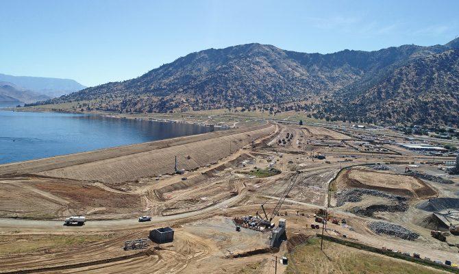 Lake Isabella Dam Safety Modification Project