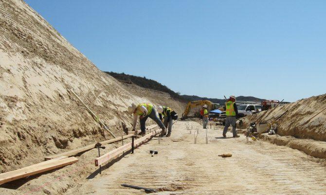 Upper Chiquita Reservoir Slope Repair