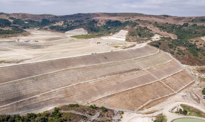 Trampas Canyon Dam and Reservoir Project