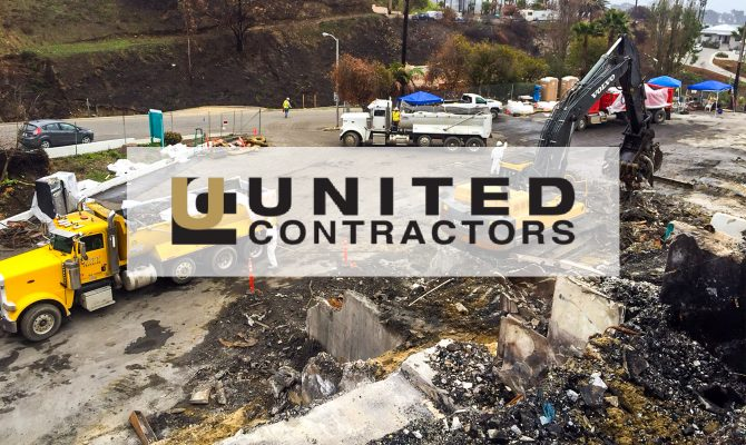 United Contractors Magazine Highlights Sukut's Thomas Fire Project
