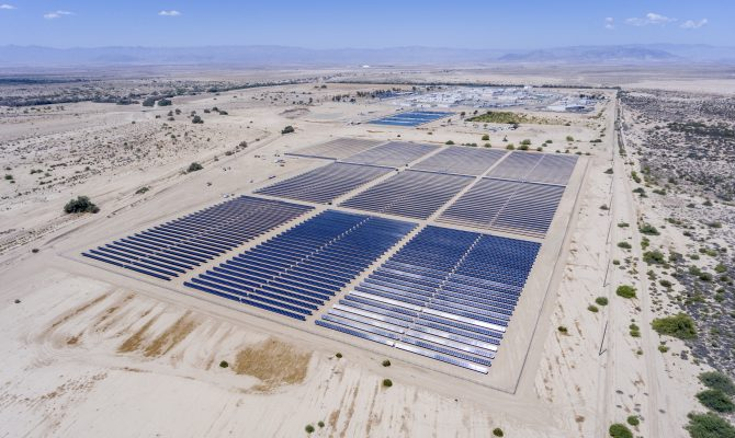 Calipatria and Centinela Solar Civil and Mechanical Projects