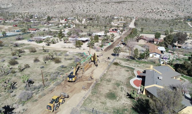 Hi-Desert Water District Wastewater Reclamation, Phase I, Package D Project