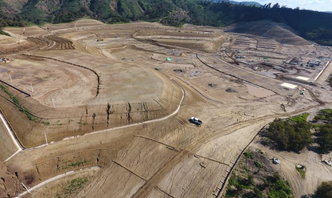 Orchard Hills, Rough Grading  And Storm Drain