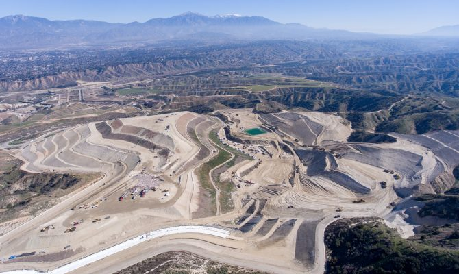 San Timoteo Sanitary Landfill Unit 2 Phases 3-2 and 4 Groundwater Protection System Composite Liner Construction project