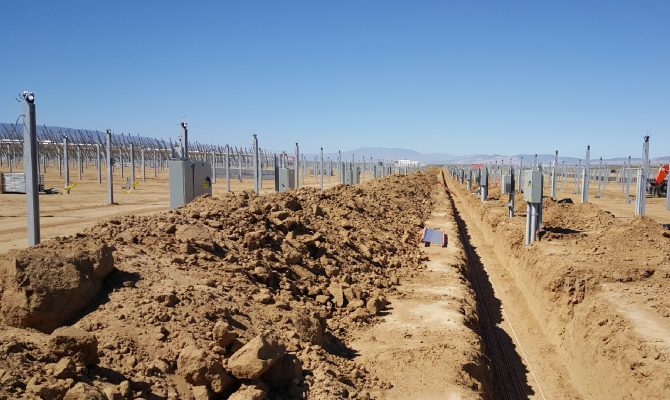 Rancho Seco Solar Civil and Trenching Site Work
