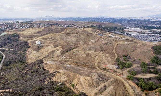 Montebello Hills Grading Phases A and B Project