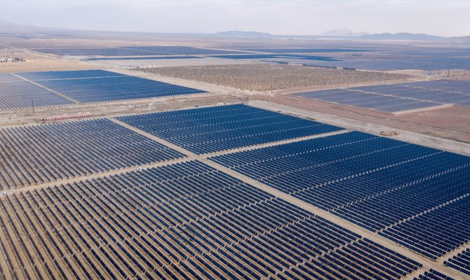 Rosamond Central Solar Civil and Trenching Project