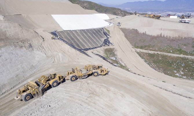 Sunshine Canyon Landfill CC-4 Part 4A Mass Excavation and Liner Project