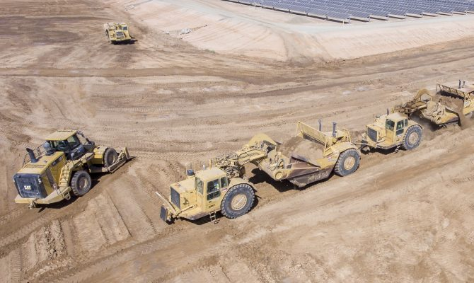 TWC Westside Solar Civil and Pile Driving Project