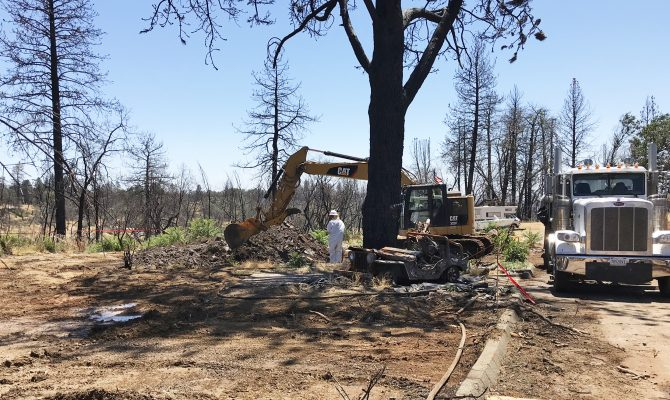 Northern Branch for the 2020 Fire Debris and Tree Removal Project