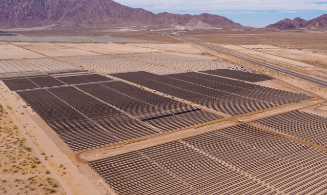 Townsite Solar Civil, Piles, and Racking Project