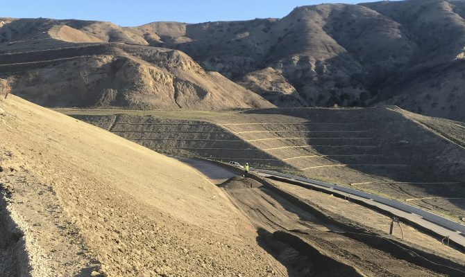 FRB Landfill East Flank Northern Diverted Channel Project
