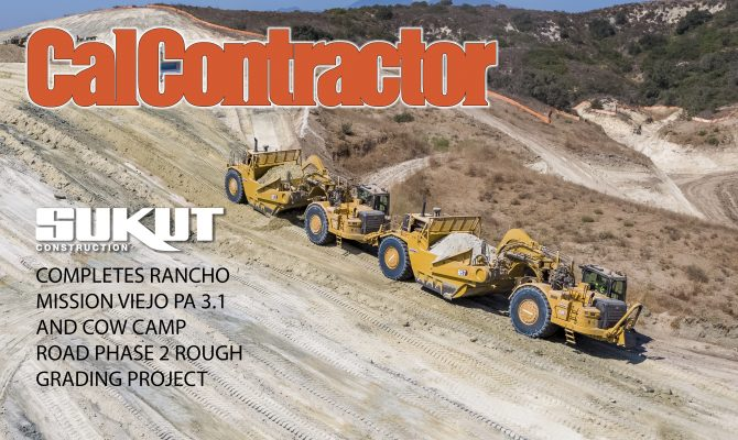 CalContractor Magazine Highlights Sukut Construction's Residential Grading Project in Rancho Mission Viejo, CA.