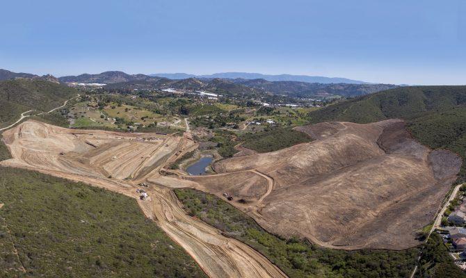 San Marcos Highlands Grading Project