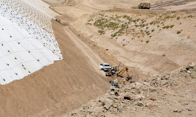 Ox Mountain Landfill XXII Construction Project