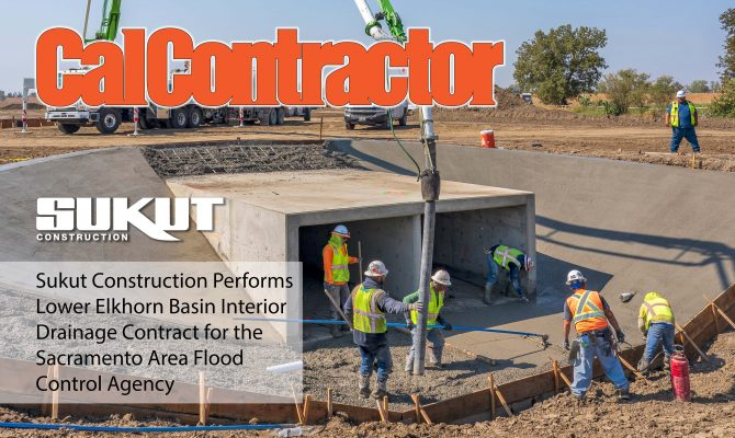 CalContractor Magazine Features Sukut's Lower Elkhorn Interior Drainage Project